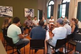Organizadores da Feira de Orgânicos do projeto Viva a Cidade realizam o planejamento para este ano