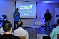 Conversa Empresarial com André Siqueira lota sala plenária da entidade