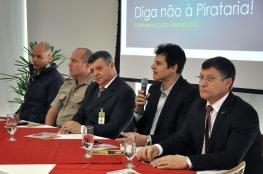 Lançada a campanha de combate à pirataria na Capital