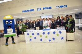 Comemoração marca aniversário da CDL de Florianópolis