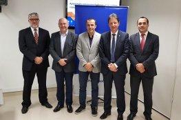 Conselho Deliberativo recebe presidente e diretor geral do TRE/SC