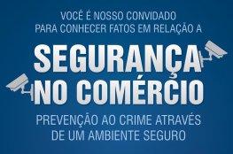 Rede de videomonitoramento compartilhado é discutido na CDL de Florianópolis