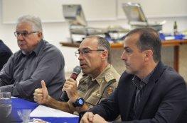 COMDES recebe coronel Araújo Gomes para tratar da segurança no Estado