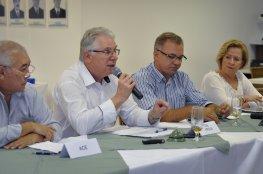 COMDES recebe vice-prefeito de Biguaçu e prefeito de Florianópolis